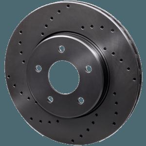 тормозные диски с перфорацией Rotinger