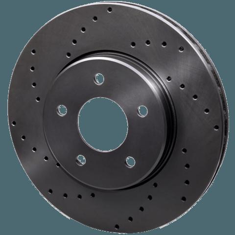 Тормозные диски с перфорацией
